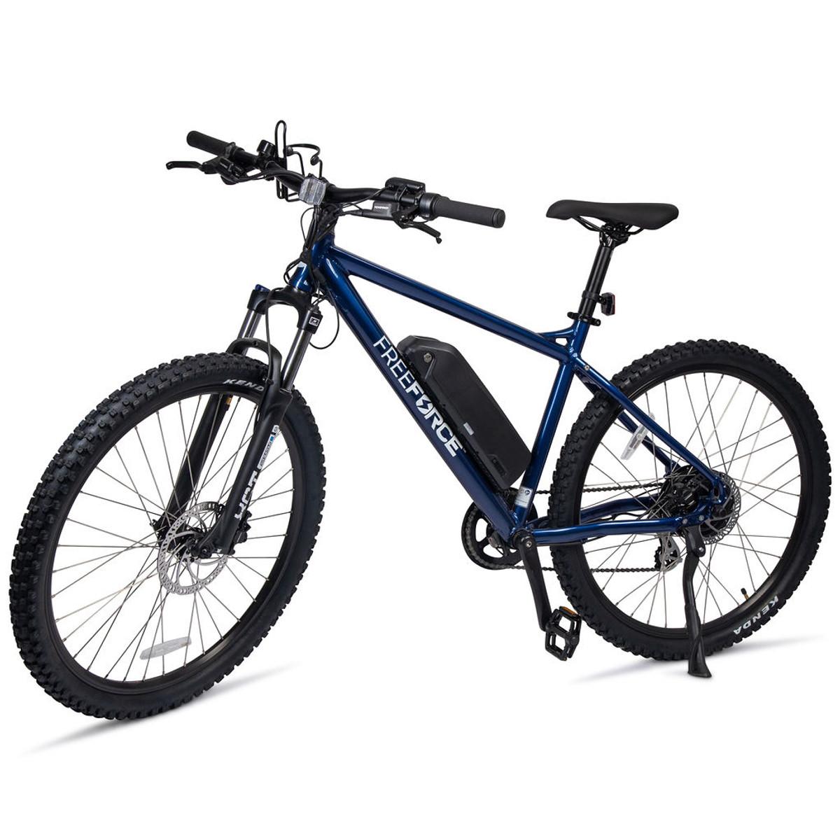 "The Denver Electric Mountain Bike - Navy 20"" Frame"