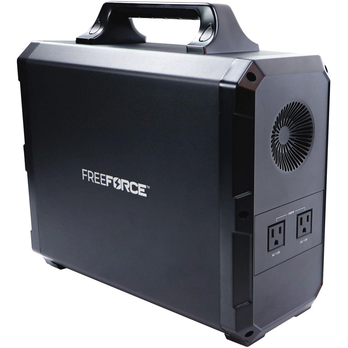 FreeForce Ultralite 1800 Portable Power Station side image
