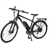 "The Fairmount Electric Commuter Bike - Matte Black 20"" Frame"