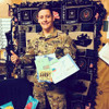 Soldier Receiving Cheer Package