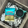 Tray of Blueberry Cobbler Coffee