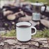 Mug of Black and Tan coffee Glamour