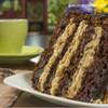 German Chocolate Cake Coffee Glamour