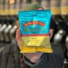 Holding Churro Coffee Full-Pot Bag