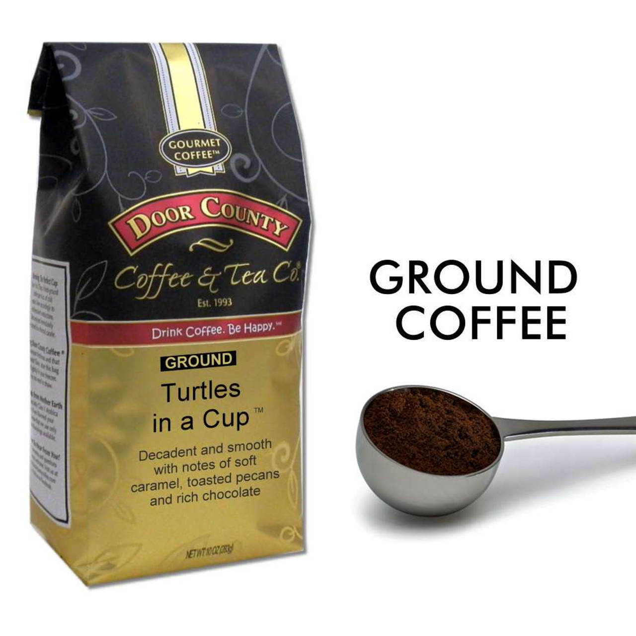Turtles In A Cup 10oz Ground Door County Coffee
