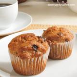 Chia Coffee Raisin Muffins