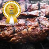 Door County Coffee Marinated Steak