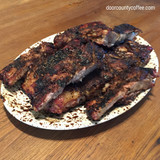 Black and Tan Java Lava Ribs