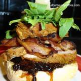 Coffee Bacon & Pepper Jam Pork Tenderloin Sliders