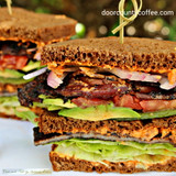 Country Morning Bacon BLT with Smokey Pimento Cheese Spread