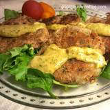 Door County Tuna Cakes with Spicy Sauce