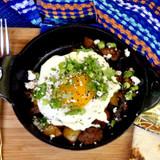 Spicy Coffee Infused Cowboy Sausage & Potato Hash