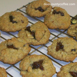 Almond Toffee Coffee 'n Date Peek-a-Boo Cookies