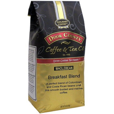 Breakfast Blend Coffee 10 oz. Bag Wholebean