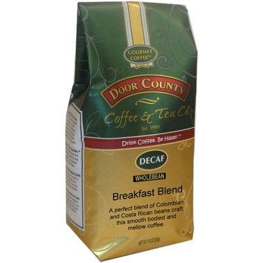 Breakfast Blend Decaf Coffee 10 oz. Bag Wholebean