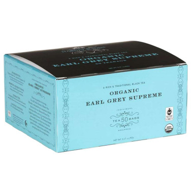 Organic Earl Grey Supreme Tea - 50 Bags