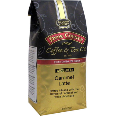 Caramel Latte Coffee 10 oz. Bag Wholebean