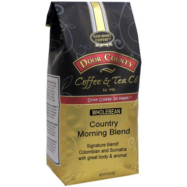 Country Morning Blend Coffee 10 oz Bag Wholebean