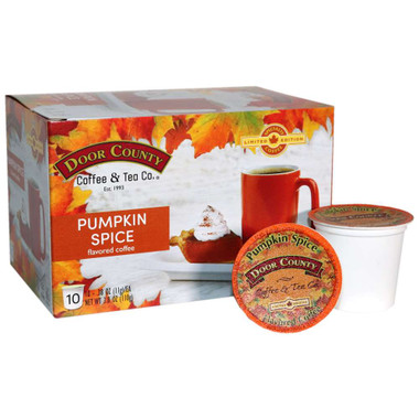 Pumpkin Spice Coffee Single Serve Cups - 10 cups