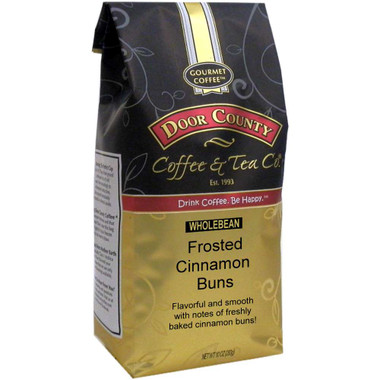 Frosted Cinnamon Bun Coffee 10oz Bag Wholebean