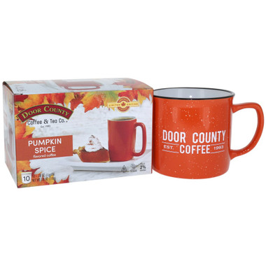Pumpkin Spice Single Serve Coffee Mug Gift