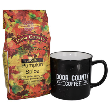 Pumpkin Spice Coffee and Mug Gift Set