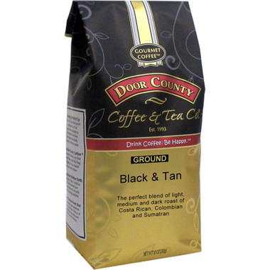 Black and Tan Coffee 10 oz. Bag Ground