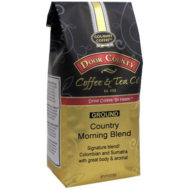 Country Morning Blend Coffee 10 oz Bag Ground