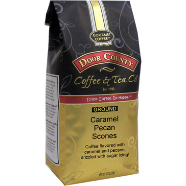 Caramel Pecan Scone Coffee 10 oz. Bag Ground
