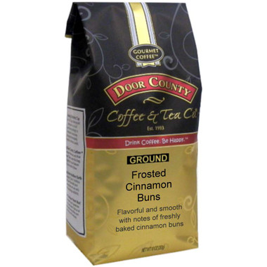 Frosted Cinnamon Bun Coffee 10oz Bag Ground