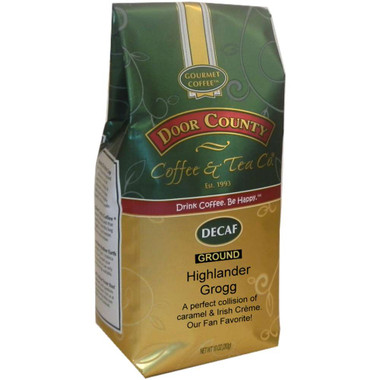 Highlander Grogg Decaf Coffee 10 oz. Bag Ground