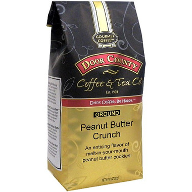 Peanut Butter Crunch Coffee 10 oz. Ground