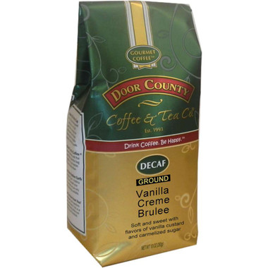 Vanilla Creme Brulee Decaf Coffee 10 oz. Bag Ground