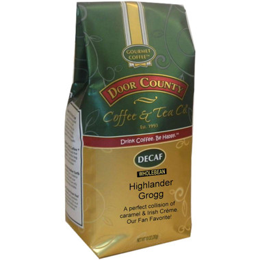 Highlander Grogg Decaf Coffee 10 oz. Bag Wholebean