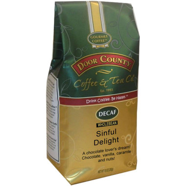Sinful Delight Decaf Coffee 10 oz. Bag Wholebean