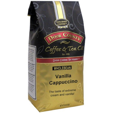 Vanilla Cappuccino Coffee 10 oz. Bag Wholebean