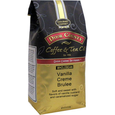 Vanilla Creme Brulee Coffee 10 oz. Bag Wholebean