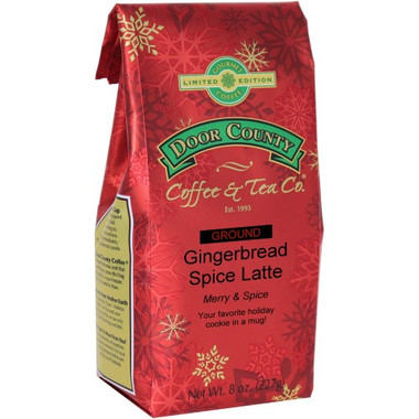 Gingerbread Spice Latte Coffee 8 oz. Bag Ground