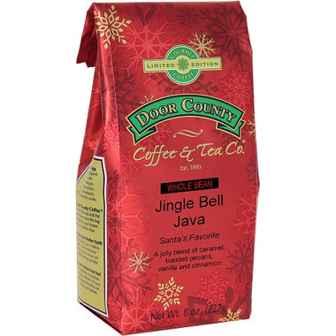 Jingle Bell Java Coffee 8 oz. Wholebean