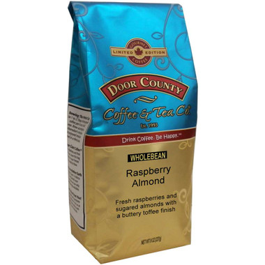 Raspberry Almond Coffee 8 oz. Wholebean