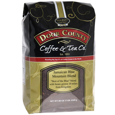 Jamaican Blue Mountain Blend Coffee 5 lb. Bag Ground