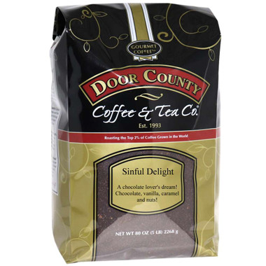 Sinful Delight Coffee 5 lb. Bag Ground