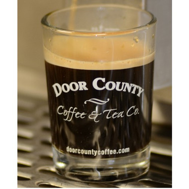 Door County Coffee Espresso Shot Glass