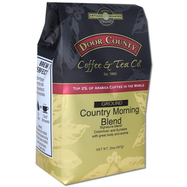 Country Morning Blend Decaf Coffee 20 oz Bag Ground