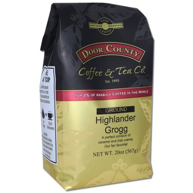 Highlander Grogg Coffee 20 oz. Bag Ground