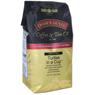 Turtles in a Cup Coffee 20 oz. Bag Ground