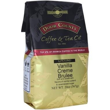 Vanilla Creme Brulee Coffee 20 oz. Bag Ground