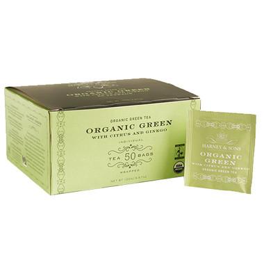 Harney & Sons Organic Green Tea- 50 Bags