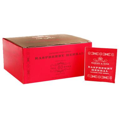 Harney & Sons Raspberry Herbal Tea - 50 Bags