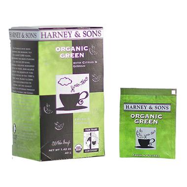 Harney & Sons Organic Green Tea - 20 Bags